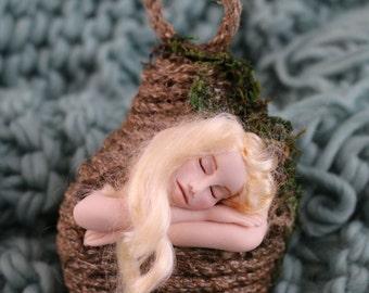 Ooak pixie pods fairy minature sculpture