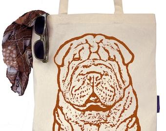 Pumpkin the Chinese Shar Pei - Eco-Friendly Tote Bag