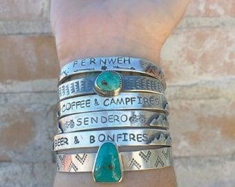 Custom cuff for Brianna Ruediner