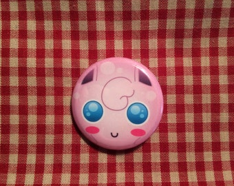 Jigglypuff (Pokemon) Button