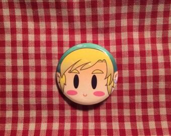 Link (The Legend of Zelda) Button