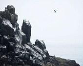 65% OFF Ocean Photography - Beach Photograph - Oregon Coastal Cliffs -Rocky Outcrop - 8x10 Fine Art Photo