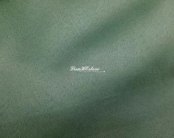 Light moss green, 1/2 yard, bigger width, faux suede fabric