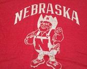 Vintage Nebraska Cornhuskers T-Shirt