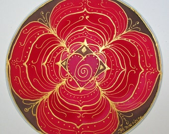 red chakra Mandala art, base chakra mandala,chakra mandala,spiritual,spiritual gift, chakra art,meditation, reiki, yoga art,metaphysical art