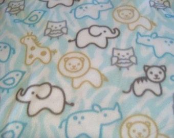 Baby Animals! Fleece Blanket