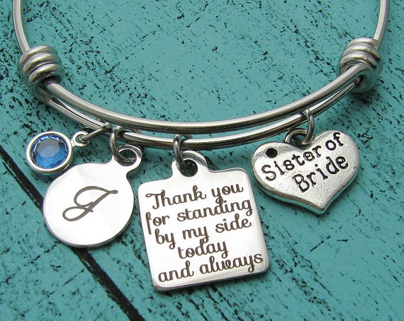 Wedding Gifts For The Bride From A Sister : sister wedding gift, for bride sister, of the bride gift, sister of ...