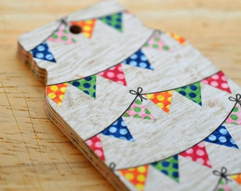 SALE-Jar Tags // Party Bunting // Gift Tags // Price Tags // Labels // Packaging // Gift Wrap // Housewarming Gift // Double Sided Tags