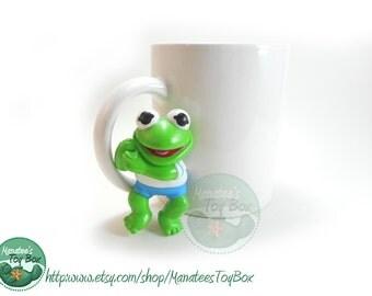 80s Muppet Babies Kermit Pencil Hugger 1980s Toy