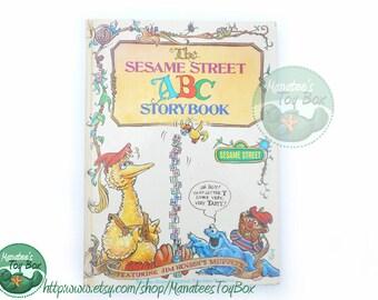 Vintage Sesame Street ABC Storybook 1970s Jim Henson