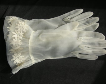 Vintage Women's Wedding Gloves