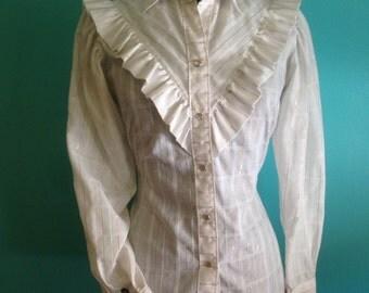 Original vintage 1980s Rockmount Ranchwear women's western shirt