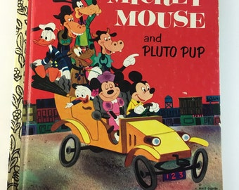 Mickey Mouse and Pluto Pup Children's Book