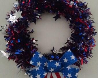 Handmade 4th of July wreath