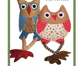 Owl Hoot ' n' Annie softie paper pattern - Owl soft toy paper pattern- Patterns by Annie - NEW in sealed bag