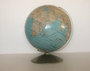 Vintage Rand McNally Globe