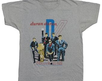 Duran Duran Shirt vintage 1984 Seven And The Raged Tiger USA Tour Tshirt Rare