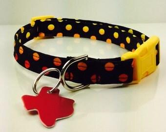 Fall Sky Dog Collar - Adjustable