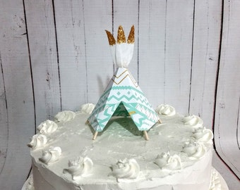 Teepee Cake Topper- Limited Edition-