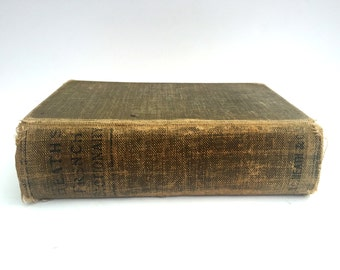 Antique French Dictionary