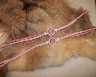 Dream Catcher Bracelet Pink Dreamcatcher Bracelets Dreamcatcher Little Dreamcatchers Small Dream Catcher