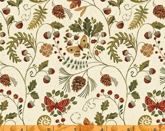 Wild Woods - Butterfly Flora by Daphne Brissonnet from Windham Fabrics