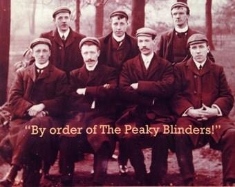 Peaky Blinders Car Adverts Cosplay Retro Humour Men Greetings Cards