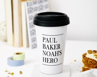 Personalised Father's Day Travel Mug