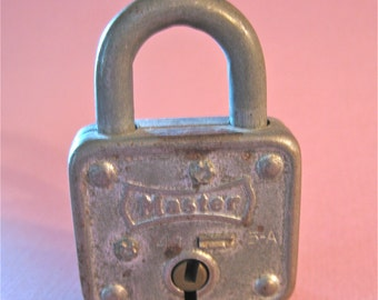 Vintage Master Lock Company Milwaukee Wisconsin Made in USA Metal