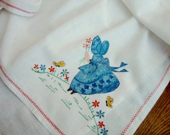 Southern Belle Tablecloth Vintage Tea Cloth