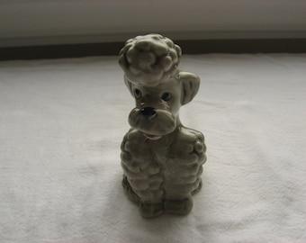 Sweet Goebel Poodle Figurine// KT 160 Made in W. Germany