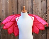 Owlette Wings - PJ Mask Felt Wings - Handmade felt wings - Owlette Cape - Red Cape