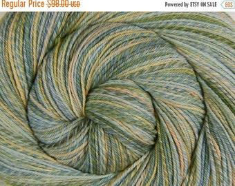3 ply Luxury Hand Spun Yarn - ETHEREAL BEING - Handpainted Ultrafine 15.5μ Merino wool, Fingering weight, 516 yards