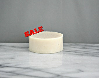 SALE :POMEGRANATE- 4 oz Round Handcrafted Cold Process Soap