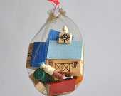 Teeny Tiny Putz Village - Erzgebirge Germany - New Old Stock