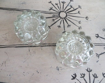 Romantic and Chic Glass Candle Holders Candlestick Holders Crystal Candle Holder Wedding Candles Wedding Gift Glass Decor