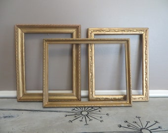 Antique Gold Frames Antique Frames Hollywood Regency Frames Vintage Picture Frames Gold Picture Frames