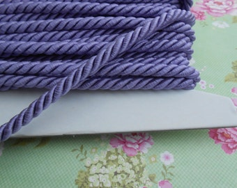 Cord Twisted Satin Lilac 3 yards