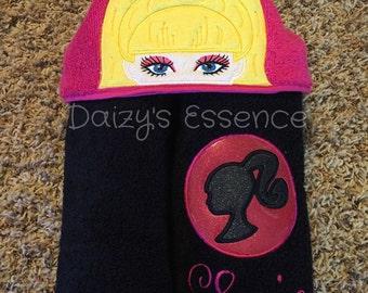 Barbie Hooded Towel