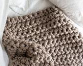 Extreme Hand Crochet Throw Blanket