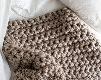 Extreme Hand Crochet Throw Blanket
