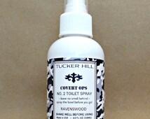 Mens Toilet Spray Odor Eliminator Poo Spray in Choice of Scent 4 ounces