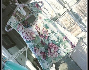 Free shipping in US-Medium-Margaret-Short Set-Womens Pajamas,tap pants,pj bottoms,pajama bottoms,handmade, vintage fabric