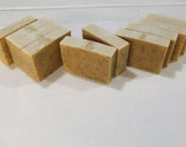 Soap Loaf--Orange Poppy Seed Goat Milk Soap