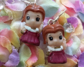 Prince and Princess Pair of Earrings