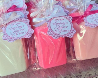 10 BAR SOAPS {Favors} - Birthday Party Soap Favors, Baby Shower, Bridal Shower, Wedding, Party Favors, Handmade Soap, Shower Soap favors