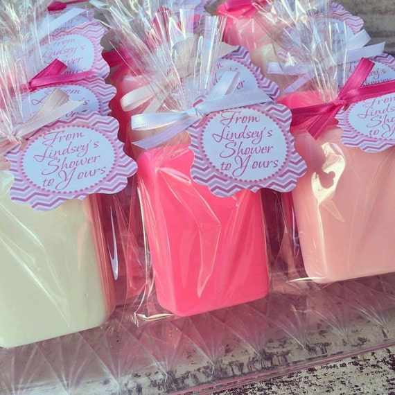 10 BAR SOAPS Favors Birthday Party Soap Favors Baby Shower