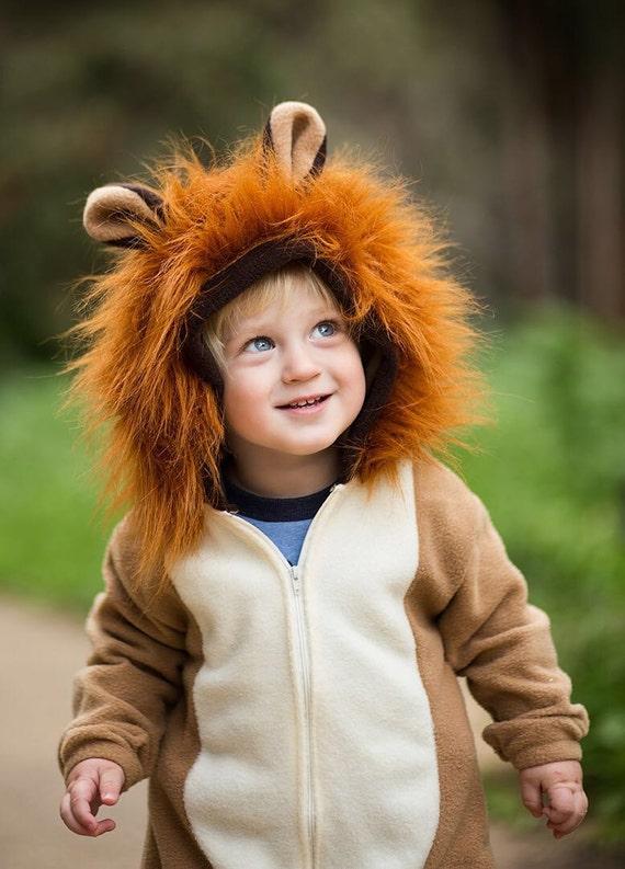 kids halloween costume lion