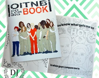 Orange is the New Black Coloring Book