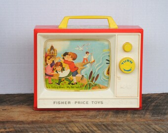 Vintage Fisher Price Two Tune TV 1966 East Aurora NY